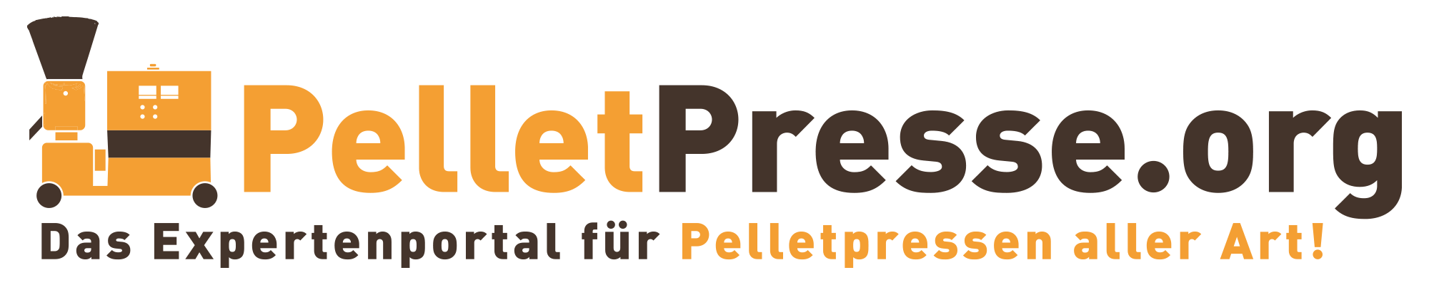 Pelletpresse Logo Transparent